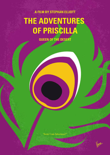Wall Art - Digital Art - No498 My Priscilla Queen Of The Desert Minimal Movie Poster by Chungkong Art