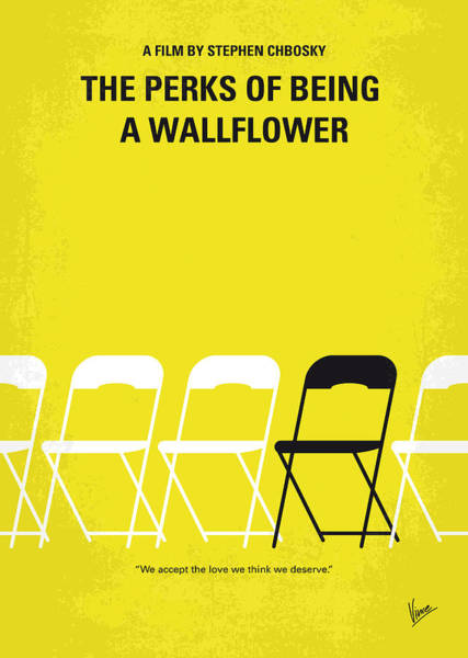 Wall Art - Digital Art - No575 My Perks Of Being A Wallflower Minimal Movie Poster by Chungkong Art