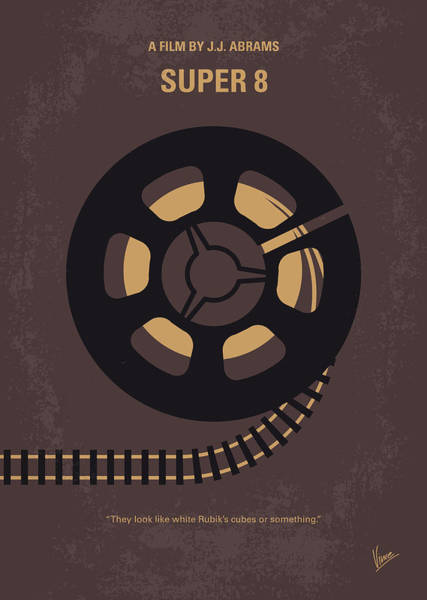 Wall Art - Digital Art - No578 My Super 8 Minimal Movie Poster by Chungkong Art