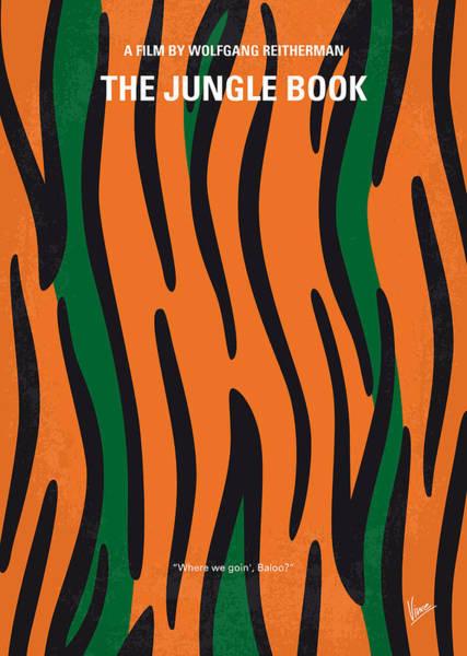 Wall Art - Digital Art - No601 My Jungle Book Minimal Movie Poster by Chungkong Art