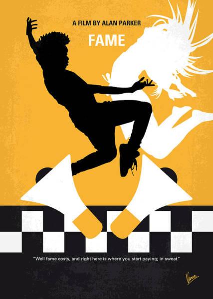 Performing Wall Art - Digital Art - No619 My Fame Minimal Movie Poster by Chungkong Art