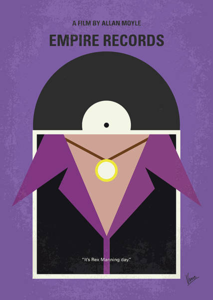 Wall Art - Digital Art - No750 My Empire Records Minimal Movie Poster by Chungkong Art