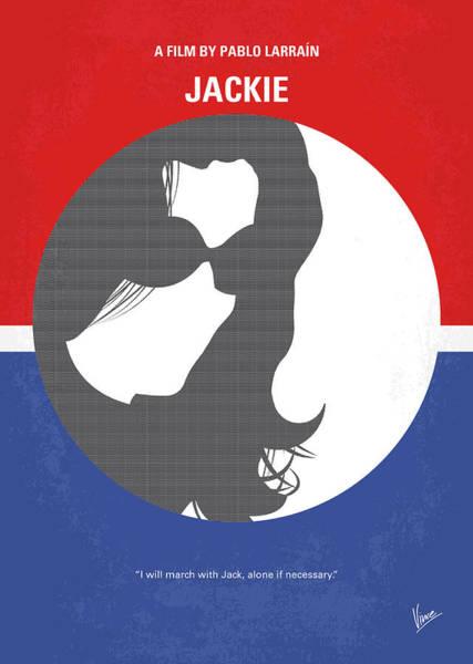 Wall Art - Digital Art - No755 My Jackie Minimal Movie Poster by Chungkong Art
