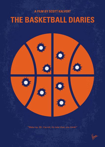 Wall Art - Digital Art - No782 My The Basketball Diaries Minimal Movie Poster by Chungkong Art