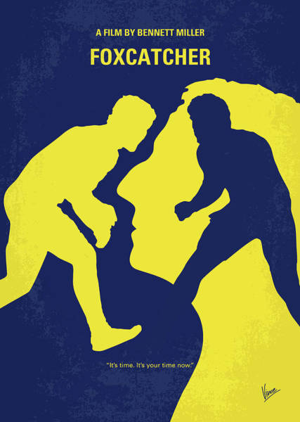Wall Art - Digital Art - No788 My Foxcatcher Minimal Movie Poster by Chungkong Art