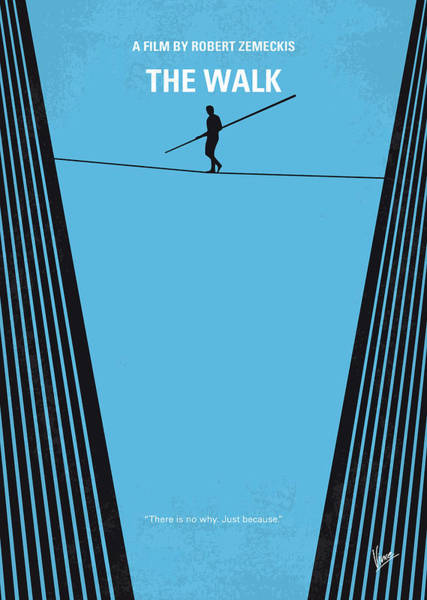 Wall Art - Digital Art - No796 My The Walk Minimal Movie Poster by Chungkong Art