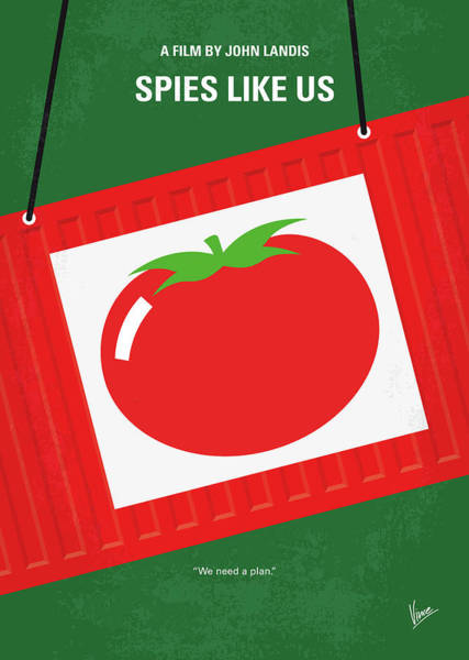 Us Digital Art - No831 My Spies Like Us Minimal Movie Poster by Chungkong Art