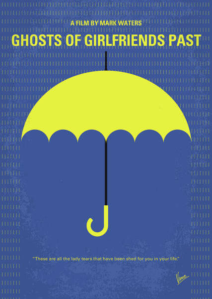 Girlfriend Digital Art - No839 My Ghosts Of Girlfriends Past Minimal Movie Poster by Chungkong Art