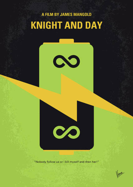 Wall Art - Digital Art - No899 My Knight And Day Minimal Movie Poster by Chungkong Art