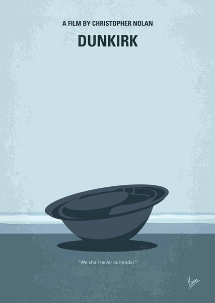 Boats Digital Art - No905 My Dunkirk Minimal Movie Poster by Chungkong Art