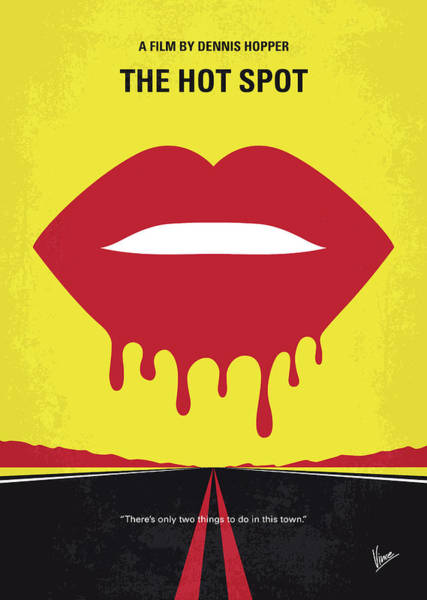 Spots Digital Art - No908 My The Hot Spot Minimal Movie Poster by Chungkong Art