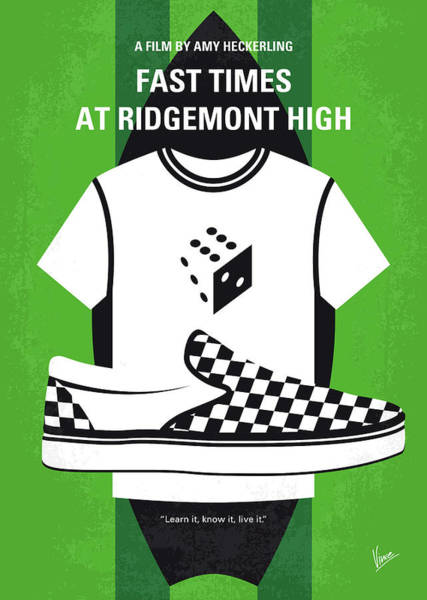 Wall Art - Digital Art - No946 My Fast Times At Ridgemont High Minimal Movie Poster by Chungkong Art