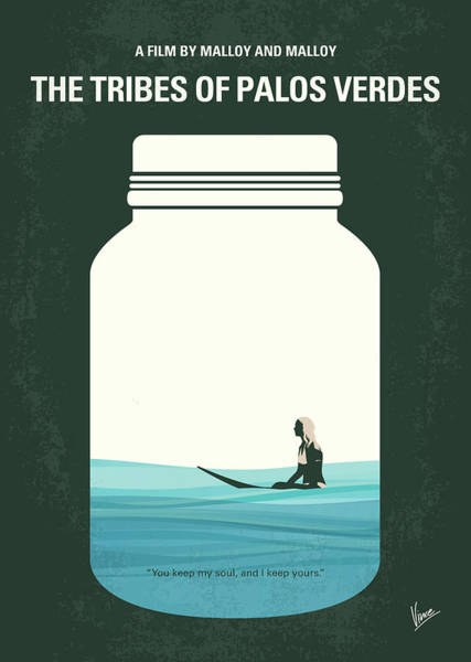 California Beaches Digital Art - No957 My The Tribes Of Palos Verdes Minimal Movie Poster by Chungkong Art
