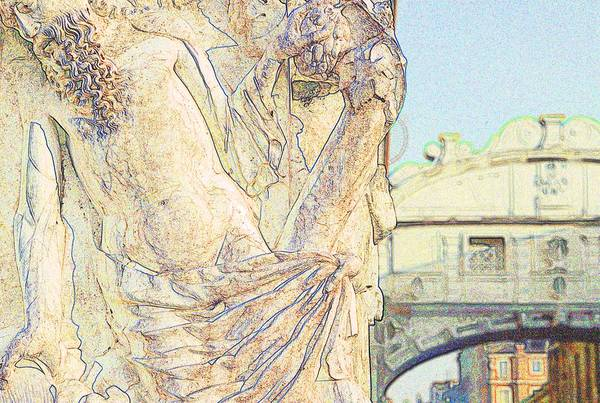Wall Art - Photograph - Noah With The Bridge Of Sighs by Michael Henderson