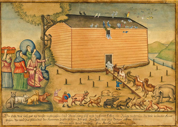 Wall Art - Painting - Noah's Ark by John Landis