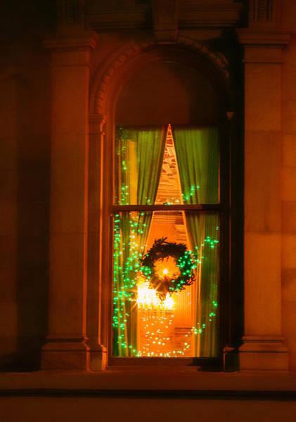 Photograph - Nob Hill Christmas Window by Bonnie Follett