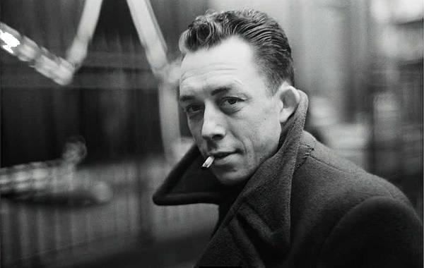 Nobel Prize Winning Writer Albert Camus Paris 1944 - 2015           Art Print