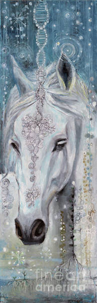 Wall Art - Painting - Noble One by Manami Lingerfelt
