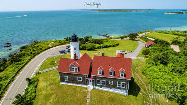 Photograph - Nobska Light House  by Michael Hughes