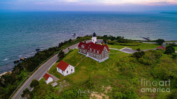 Photograph - Nobska Point Lighthouse by Michael Hughes