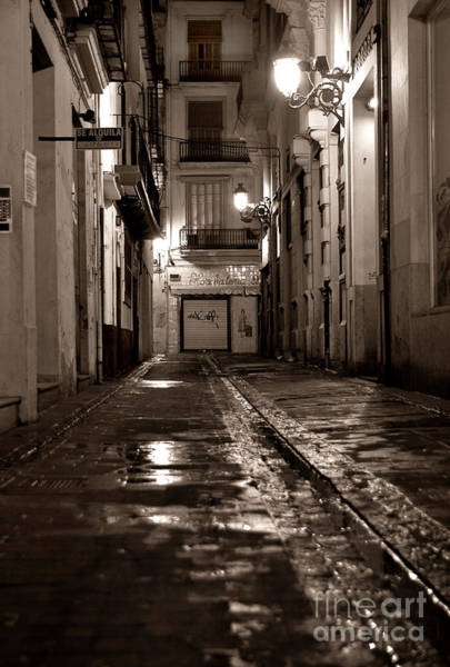 Photograph - Nocturnal Sound Of Valencia by Silva Wischeropp