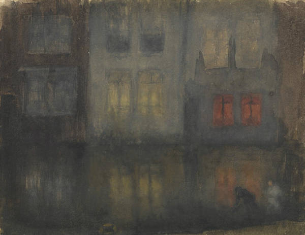 Painting - Nocturne Black And Red by James Abbott McNeill Whistler