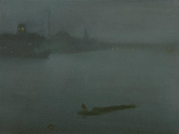 Painting - Nocturne In Blue And Silver by James Abbott McNeill Whistler
