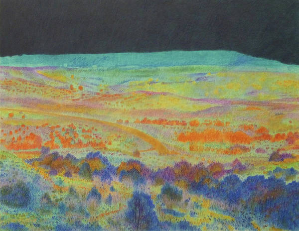 Painting - Nocturne Near Bullion Butte by Cris Fulton