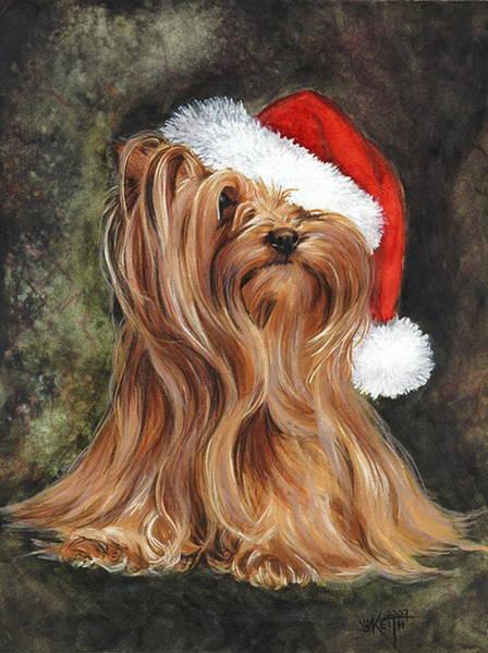 Purebred Mixed Media - Noel by Barbara Keith