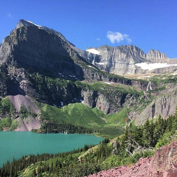Photograph - #nofilterneeded #grinnellglacier #trail by Patricia And Craig