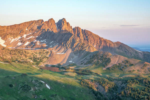 Wall Art - Photograph - Nokhu Crags Sunrise by Aaron Spong