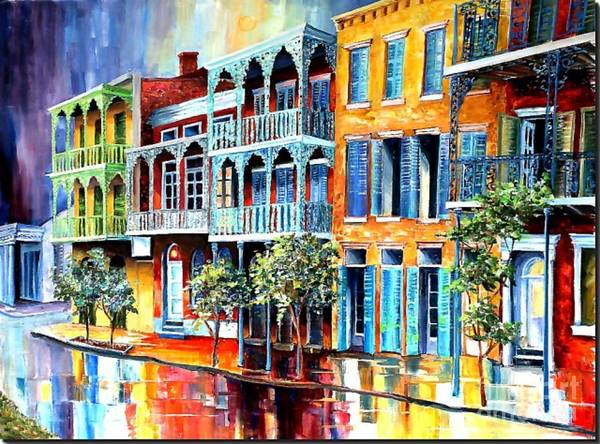 Mixed Media - Nola 5 by Dt