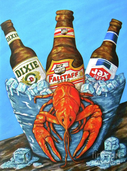Wall Art - Painting - Nola Brew Bug by JoAnn Wheeler