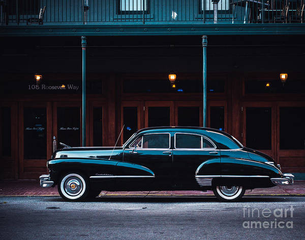 Black Car Photograph - Nola Caddie by Sonja Quintero