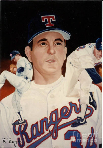 Painting - Nolan Ryan Medley by Rosario Piazza
