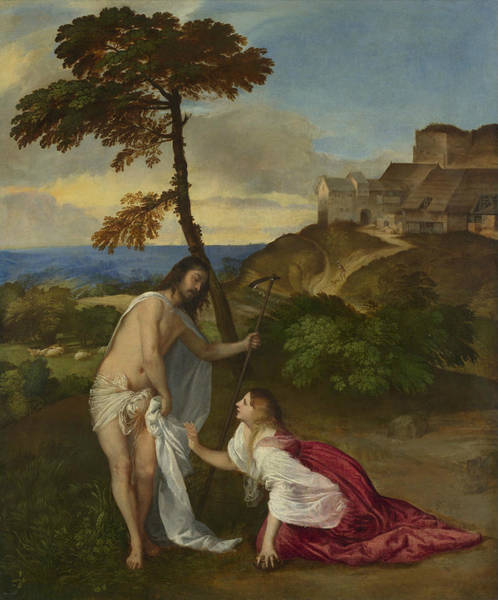 Painting - Noli Me Tangere by Titian