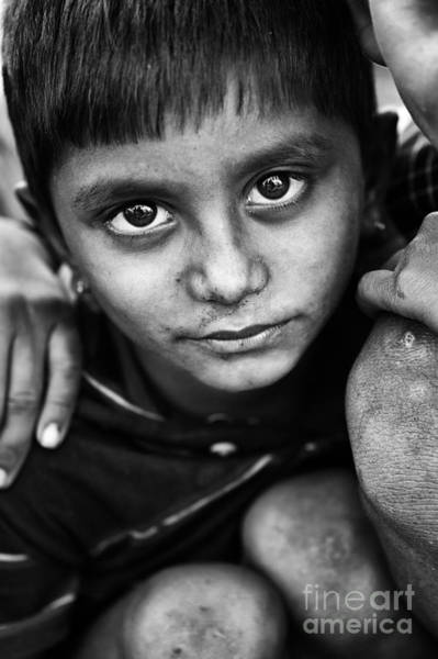 Big Boy Photograph - Nomadic Rajasthan Boy by Tim Gainey