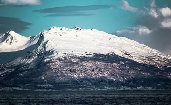 Photograph - Nomedalstinden Peak Troms Norway by Adam Rainoff