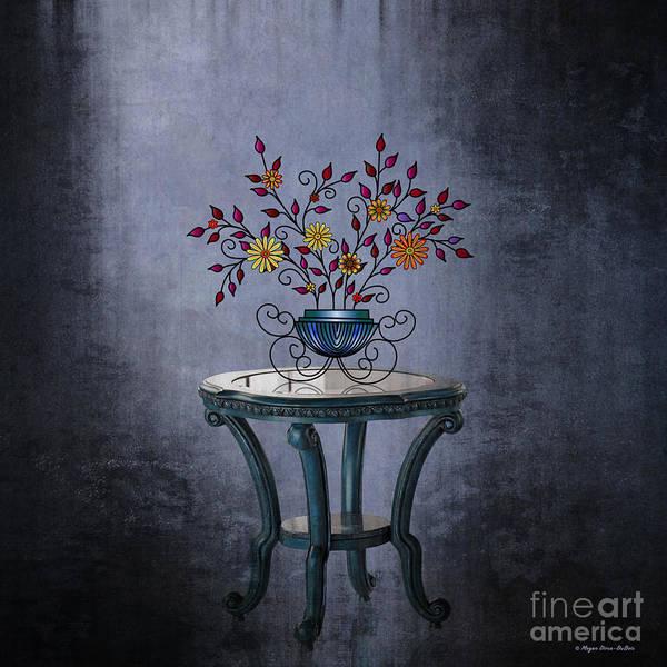 Digital Art - Non-biological Botanical 2 by Megan Dirsa-DuBois
