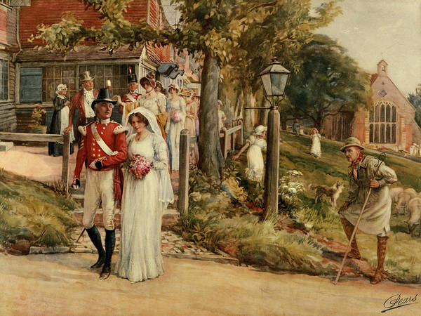 Fair Painting - None But The Brave Deserve The Fair by James Shaw Crompton