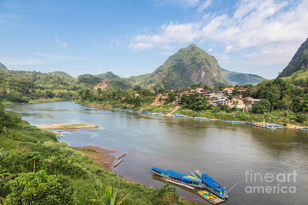 Photograph - Nong Khiaw In North Laos by Didier Marti