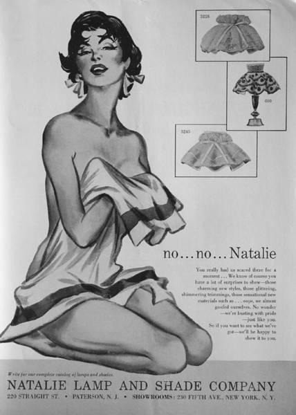no...no... Natalie Art Print