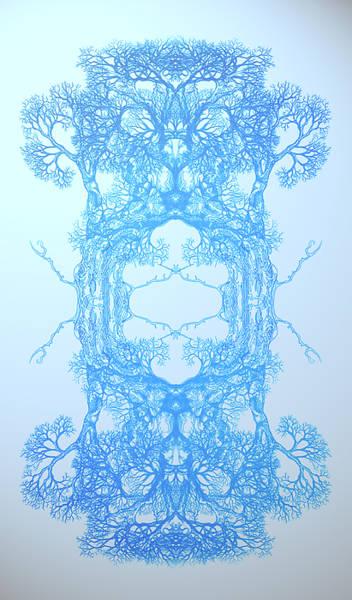 Nonphysical Me Tree 17 Hybrid 3 Art Print