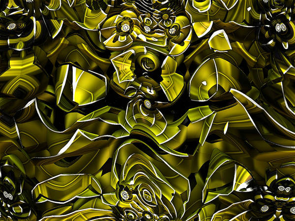 Digital Art - Nonpolar Phagoadhesion by Jeff Iverson