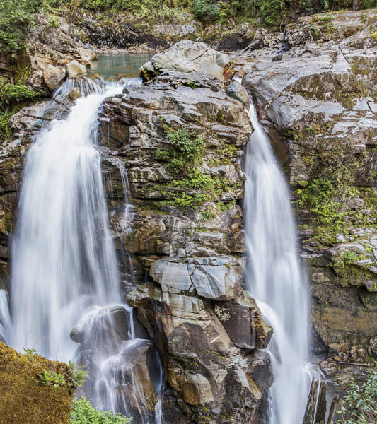 Wall Art - Photograph - Nooksack Falls by Tony Locke