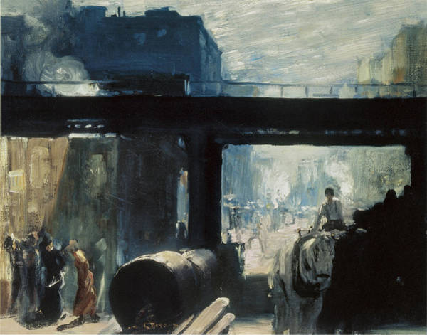 Photograph - Noon by George Bellows