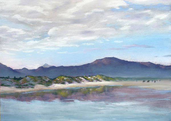 Painting - Noordhoek Beach by Christopher Reid