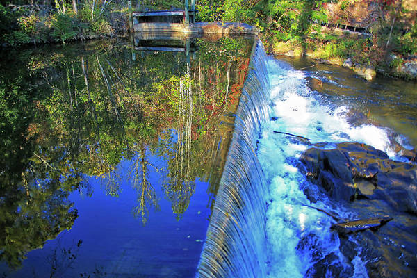 Photograph - Nora Mill Race  by Dale R Carlson