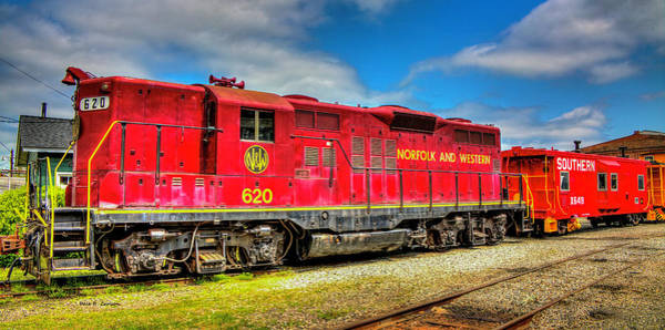 Photograph - Norfolk And Western 620 by Dale R Carlson