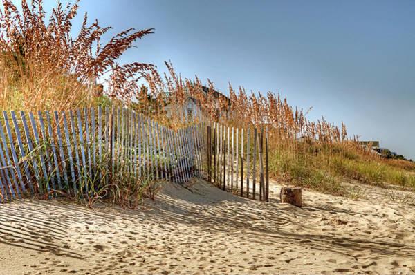 Norfolk Va Wall Art - Photograph - Norfolk Beach by Gail Wiley Thompson
